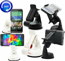 360° UNIVERSAL IN CAR MOBILE PHONE HOLDER SUCTION MOUNT FOR VARIOUS ZTE MODELS