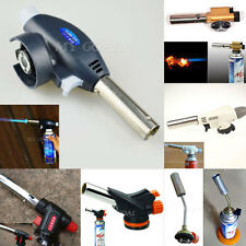 Outdoor Welding BBQ Tool Flamethrower Burner Butane Gas Blow Torch Auto Ignition