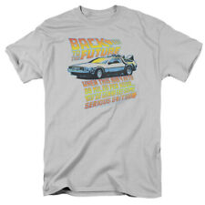 Back To The Future Delorean 88MPH Licensed Licensed Adult Shirt S-3XL