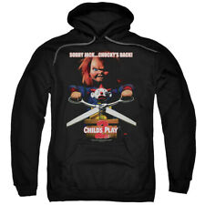 Child's Play Movie 2 Chucky's Back Licensed Adult Pullover Hoodie