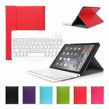 Wireless Bluetooth Keyboard Detachable Leather Case For Apple iPad 6 Air 2 2014