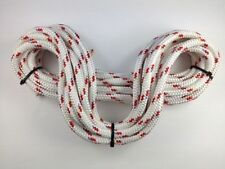 Quality Liros White Braid on Braid Polyester Rope All Sizes 6,8,10,12 & 14mm New