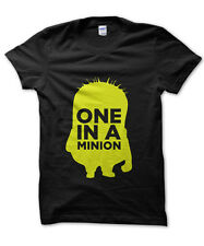 One in a Minion despicable me inspired t-shirt