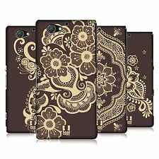 HEAD CASE DESIGNS HENNA HARD BACK CASE FOR SONY XPERIA A2