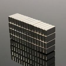 Lot D'Aimants Neodyme Neodymium Magnet Magnetique Puissant Block 10x5x3mm N35