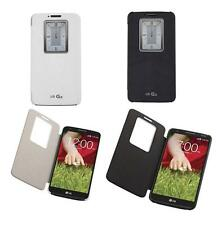 OEM LG G2 Quick Window Folio Case Cover for AT&T, T-Mobile, Sprint Phones Only