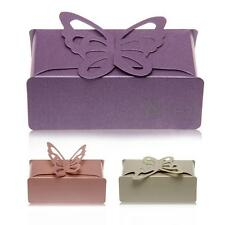 12 Paper Candy Gift Box Laser Cut Wedding Party Favor Butterfly