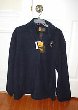BROWNING BUCKMARK MEN'S FLEECE JACKET - RIVER BLUE COAT XL