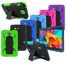 Heavy Duty Hybrid Case Cover Armor Box with Stand for Samsung Galaxy Tab Tablet