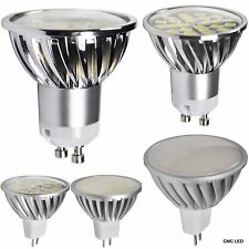 LED Spotlight 2PCS GU10 MR16 SMD Light Lamp Bulb 3W 5W 7W DC12V AC100-240V