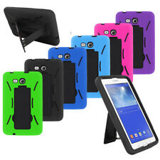 Dual Layer Armor Impact Box Shockproof Case Cover for Samsung Galaxy Tab Tablet