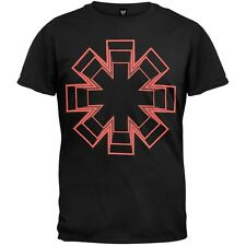 Red Hot Chili Peppers - Live Floor Asterick  Adult Mens T-Shirt