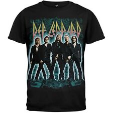 Def Leppard - Stance 2012 Tour Adult Mens T-Shirt