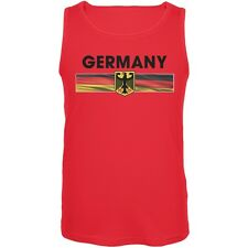 FIFA - Germany Eagle Crest Red Soccer Mens Tank Top