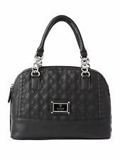 GUESS Women's Alivia Quilted Dome Satchel