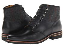 Timberland Men's Abington Classic Lace Up Black Leather Boots Shoes