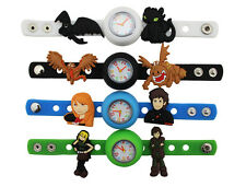 Kids DIY Watch + 11 How To Train Your Dragon Qute Charms Party Gift