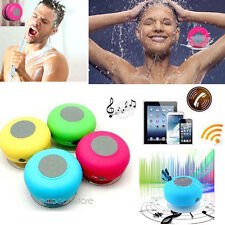 Bluetooth Wireless Speaker Mini Waterproof Suction Shower For iPhone Samsung DS4