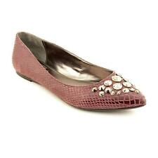 Falchi by Falchi Reese Womens Leather Flats Shoes New/Display