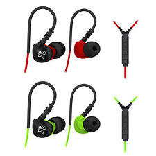 MEElectronics Sport-Fi S6P Memory Wire In-Ear Earphone package with Mic & remote