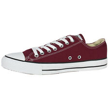 CONVERSE CHUCK TAYLOR ALL STAR OX SHOES MAROON M9691 SHOES CASUAL