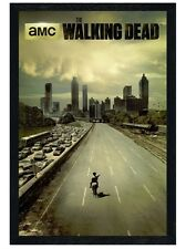 New Black Wooden Framed The Walking Dead Andrew Lincoln Is Rick Grimes Poster