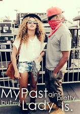 My Past Ain't Pretty But My Lady Is JayZ Beyonce Poster A1 A2 A3 A4 Hov B Blow