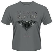 Game Of Thrones 'All Men Must Die' T-Shirt - NEW & OFFICIAL!