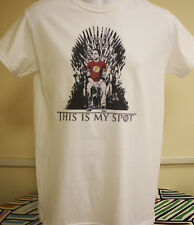 Big Bang Theory This Is My Spot Game Of Thrones Parody T Shirt Sheldon Cooper