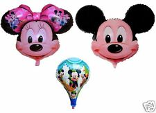 NEW MICKEY & MINNIE MOUSE MYLAR BALLOON FOR PARTY HELIUM OR AIR