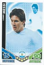 Topps Match Attax Trading Cards Football World Cup 2010 - Messi, Beckham, Suarez