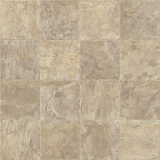Brand Rustic Slate Quality Non Slip Vinyl 3m Wide Flooring Lino Kitchen Bathroom