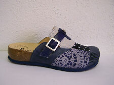 Think shoes Julia , Schnalle mit Gummizug capri / blau kombi,