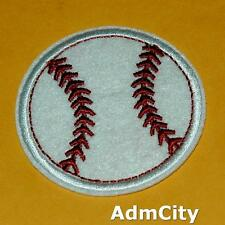 Baseball Ball Sports Iron on Sew Patch Embroidery Applique Punk Health Exercise