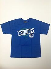Reebok Vancouver Canucks Hockey Youth NEW NHL T Shirt Multiple Sizes NHL.Com NWT