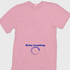 Baby Loading Pregnancy Nerd Humor T-shirt Maternity Announcement Tee Shirt