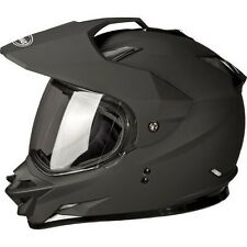 GMAX GM11D Adult Dual Sport Motorcycle Helmet- Moveable Eye Shield- Open Box