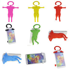 Mobile Hanging Man Guy Fun Flexible Novelty Mount Holder For Cell Phone GPS MP4