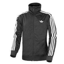 ADIDAS ADI FIREBIRD TT MEN HERREN ORIGINALS JACKE BLACK WHITE S23129 TRACK TOP