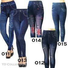 Women Denim Jeans Sexy Skinny Leggings Jegging Stretch Pants Trousers New TD NEW