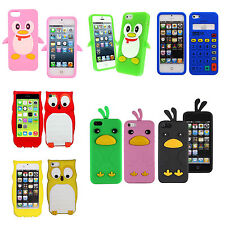 Fashion Cute Silicone Soft Cell Phone Case Shell Skin Cover for Apple iPhone5 5S