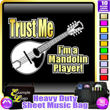 Mandolin Trust Me - Sheet Music & Accessories Personalised Bag by MusicaliTee