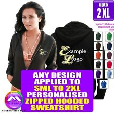 Zipped HOODY Small - 2XL With Any Music Design Personalised by MusicaliTee