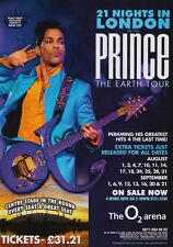PRINCE London o2 Arena Planet Earth 2007 Tour PHOTO Print POSTERArt Official 02