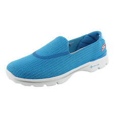 SKECHERS GO WALK 3 HOUSTON MARATHON WOMENS 13864 W/GOGA MAT TECH SLIP-ON SHOES