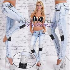 NEW WOMENS STUDDED JEANS XS S M L XL shop online clothing DENIM PANTS for ladies