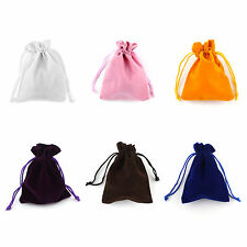 Velvet Jewellery Drawstring Gift Bag Pouches Jewelry Bags x10