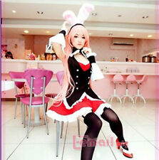 Sexy Bunny Girl Costume Cosplay Kostüm maidservant Uniform Fancy Dress WSJ21