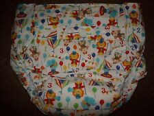 Dependeco All In One cloth adult baby diaper S/M/L/XL  (circus)