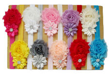 NEW Cute  Baby Girl Hair Headband Rose Flower. Gentle Elastic Choice of colours